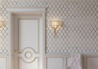 درب اتاق کلاسیک , درب های چوبی سبک کلاسیک مناسب اتاق خواب, مدل در چوبی اتاق خواب