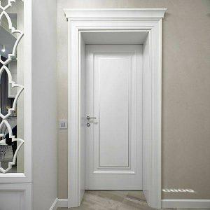 مدل درب چوبی سبک کلاسیک , ساخت درب چوبی اتاقی , درب چوبی