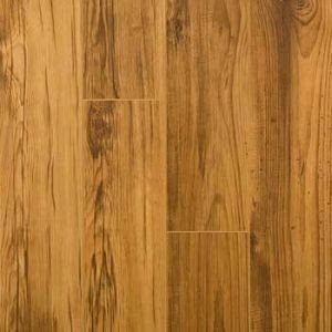 کفپوش چوب طبیعی سبک روستیک، دیزاین داخلی رستوران