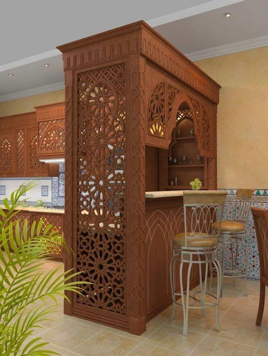 دکوراسیون آشپزخانه سبک معماری ایرانی و اسلامی