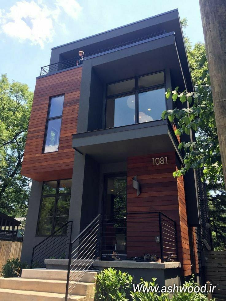 ساخت ویلا و سازه های مدرن و سبک چوب و فلز