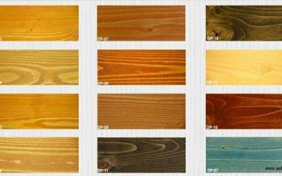 حلال رنگ چوب