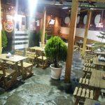 نمونه کار صنایع چوب فن و هنر , رستوران بامزی