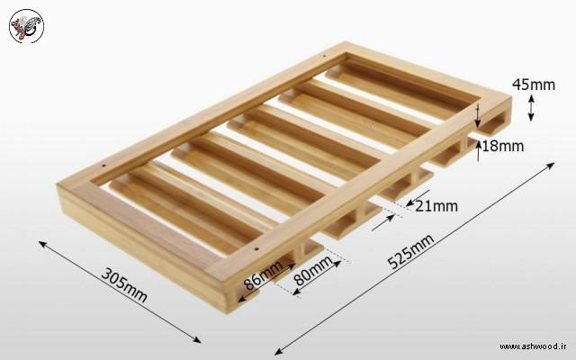 جا گیلاس چوبی