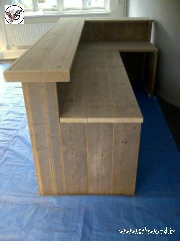 ایده میز بار چوبی , طراحی جدید برای ساخت میز چوبی , دکوراسیون میز بار  میزبان ساخت میز بار طراحی میز بار چوبی , سفارش و ساخت کانتر بار و میز بار چوبی