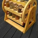 دکوراسیون جالب چوبی آشپزخانه