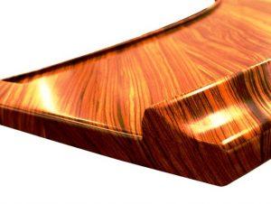 لبه و قرنیز میز اپن ، مدل های چوبی از جزریره و اپن و میز بار آشپزخانه چوبی