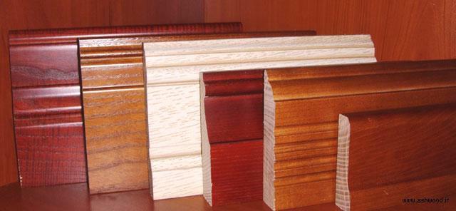 مدل های قرنیز چوبی ,  قرنیز چوبی سفید  و طرح چوب طبیعی