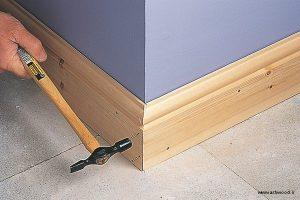 تخته های قرنیز بلند برای پوشش کف و رفع نقایص احتمالی
