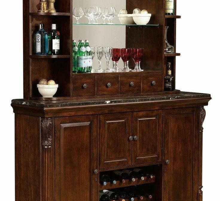 مدل میز بار کلاسیک چوبی