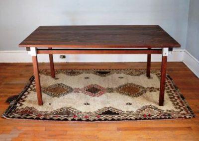 میز چوب و فلز
