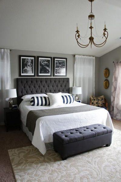 دکوراسیون اتاق خواب ایده و مدل 2019 , تخت خواب و سرویس خواب
