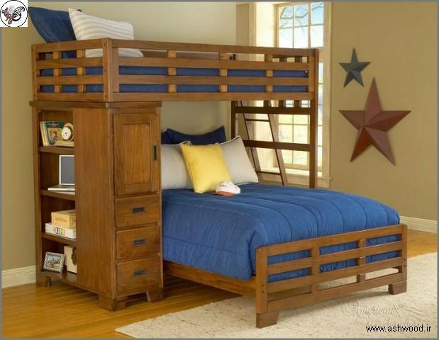تخت خواب کودک و نوجوان , بهترین تخت کودک و نوجوان برای اتاق خواب