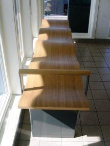 نیمکت چوبی ارگونومیک