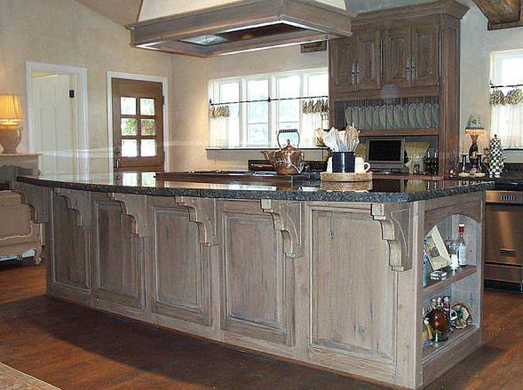طرح آشپزخانه قدیمی با الهام از عکس ها قدیمی روستیک و چیدمان خانه های قدیمی