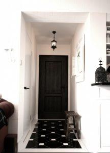 درب های داخلی سیاه