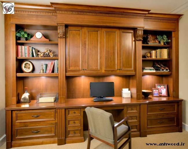 یک قفسه کتاب خلاقانه + عکس کتابخانه