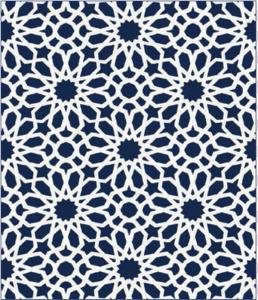 الگوهای هندسی و اشکال انتزاعی