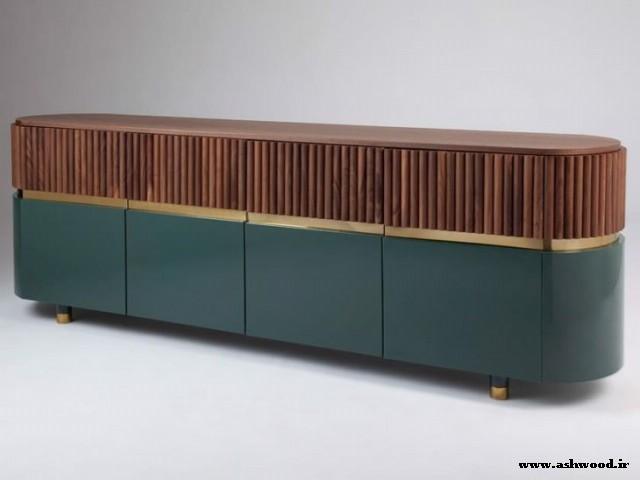 مدل میز کنسول چوبی , مدل کنسول چوبی مدرن