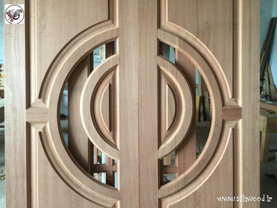 ساخت درب چوبی سفارشی