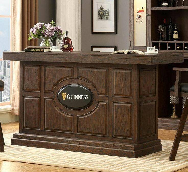 میز بار چوبی , طراحی و ساخت انواع میز بار سفارشی با چوب , ایده های 2019