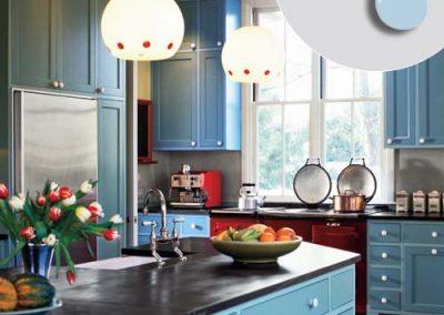 دکوراسیون آشپزخانه ، کابینت های به روز و لاکچری