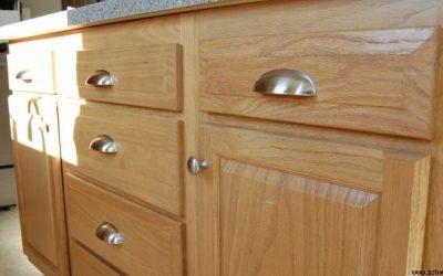 درب کابینت آشپزخانه چوب بلوط