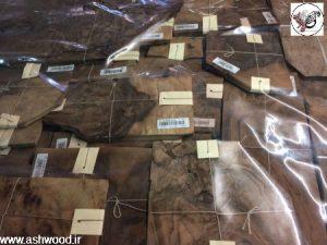 روکش ریشه گردو در دکوراسیون چوبی خاص و منحصر به فرد چوبی