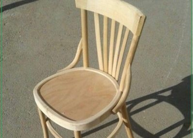 صندلی لهستانی چوب راش