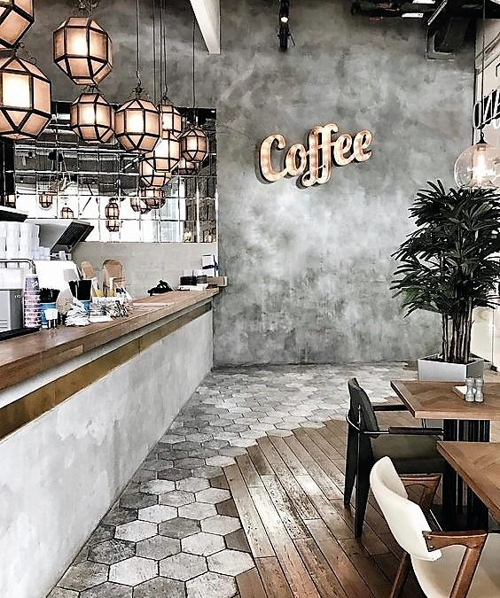 دکوراسیون کافه