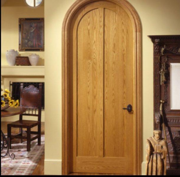 ایده و عکس ساخت درب چوبی ، تمام چوب کاج روسیه سبک لمبه کوبی تلفیق مدرن و سنتی در دکوراسیون داخلی ، درب داخلی چوبی ، درب اتاقی ، مقاوم دربرابر رطوبت بدلیل استفاده از چوب کاج
