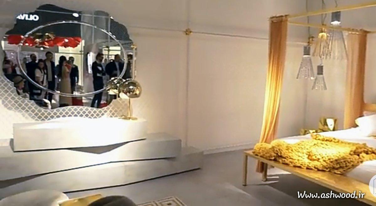 دکوراسیون 2018، اتاق خواب، سرویس خواب، میز آرایش و کنسول و آینه