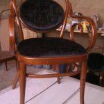 میز و صندلی لهستانی چوب گردو