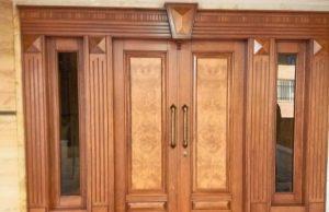 درب های لوکس تمام چوب راش و گردو