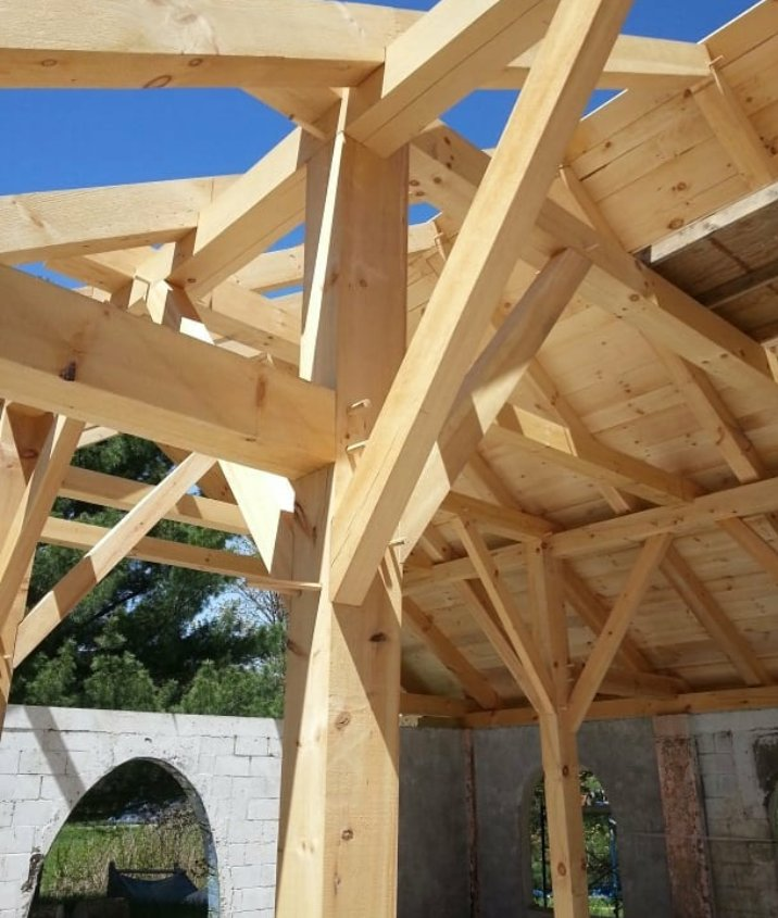 ساخت کلبه چوبی، ساختمان چوبی