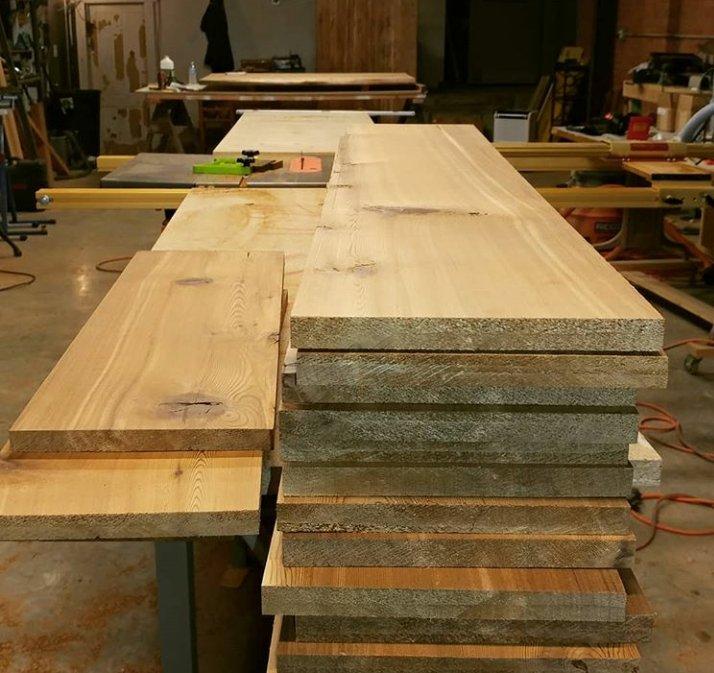 صفحه میز تمام چوب طبیعی