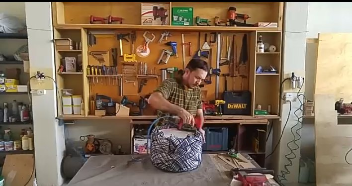 آموزش ساخت پاف مبل