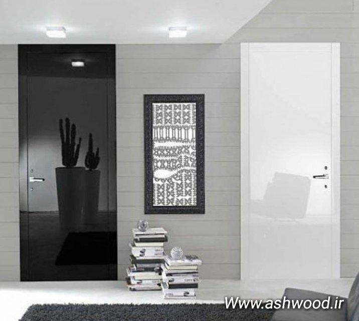 طراحی ومدل جدید انواع درب چوبی ورودی نمایشگاه 2018