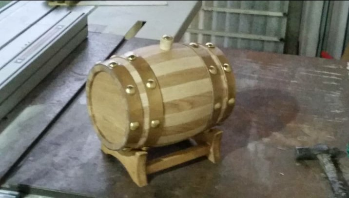 بشکه های چوب بلوط