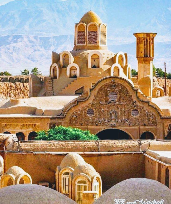 عکس از بنای تاریخی شهر کاشان