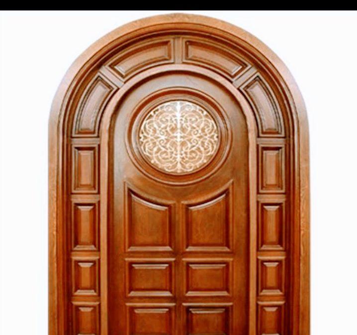 ساخت درب چوبی , انواع درب های چوبی زیبا 2019