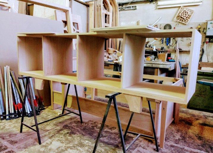 ساخته شده از چوب راش