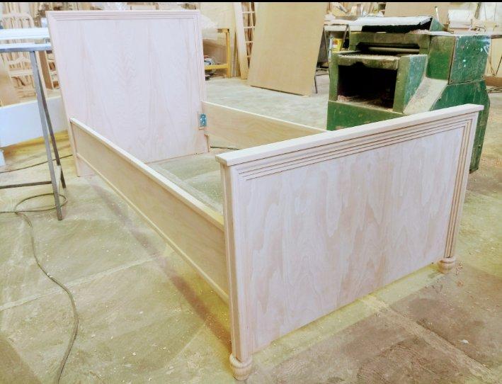 سرویس خواب اتاق کودک ساخته شده از چوب راش