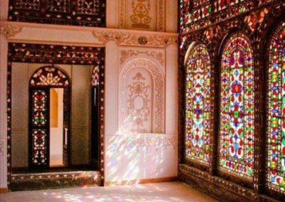 درب قدیمی , دکوراسیون سنتی , معماری ایرانی , گره چینی و ارسی سازی