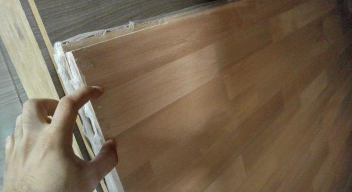 پانل فینگر جوینت چوب راش