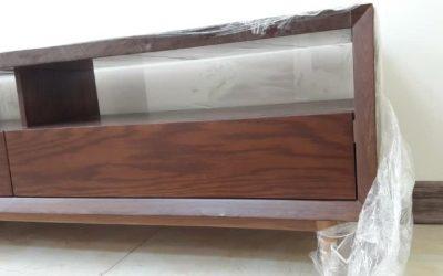 فروش میز تلویزیون تمام چوب کاج روسی