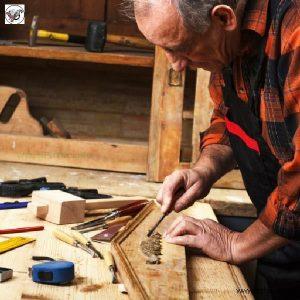نجاری و درودگری فن و هنر ایران زمین , آموزش ساخت دکوراسیون چوبی لوکس