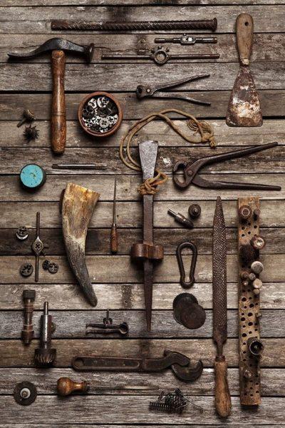 کارگاه و ابزار قدیمی نجاری