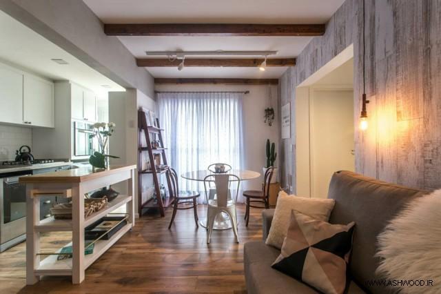 طراحی آپارتمان سبک اسکاندیناوی