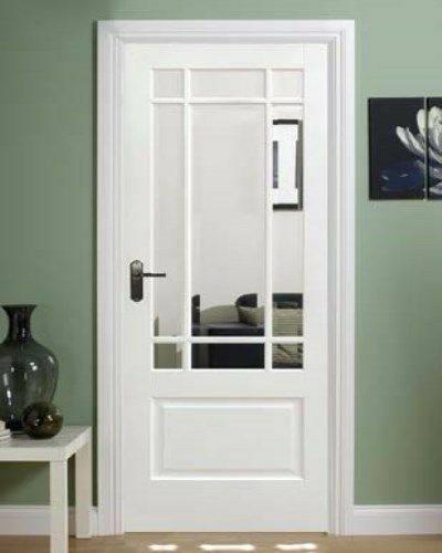 تصاویر و مدل درب چوبی شیشه خور